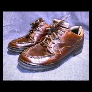 Timberland Brown Leather Casual Shoes Size 7 1/2